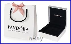 Authentic Pandora ICONIC Sterling Silver European Charm Bracelet B19