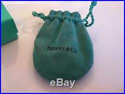 Authentic Tiffany & Co silver Charm Bracelet
