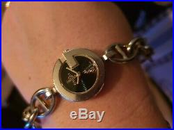 Beautiful Gucci 107 Charm Bracelet Watch With Charms & Box Great Condition