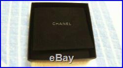 Chanel CC COCO mark motif Silver Charm Black chain Bracelet With box mfa108