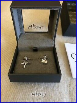 Clogau Cariad Sterling Silver Heart Milestones Bracelet 19cm + 3 Charms RRP 349