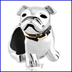 Dog Pet Germany Bulldog Animal Charms Jewelry Bead Pandora Charm Bracelet