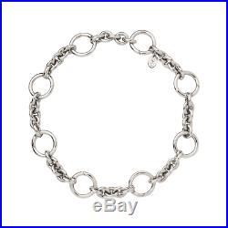 Genuine Links of London Sterling Silver Capture Charm Bracelet