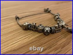 Genuine Pandora Silver Bracelet Inc All 13 Charms RRP £350