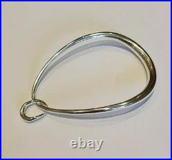 Georg Jensen Sterling Silver Offspring Bangle with Charm 20000133 (10013289)
