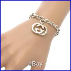 Gucci GG Bracelet Bracelet Charm Silver 925 Women