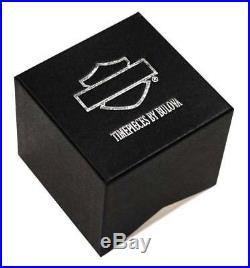 Harley-Davidson Women's Bulova Charm Bracelet Wrist Watch 76L145