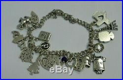 James Avery Bracelet with 18 charms