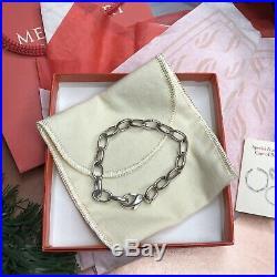 James Avery Changeable Charm Bracelet Sterling Silver Medium