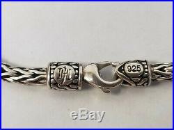 John Hardy Naga Dragon Charm Bracelet Pink Sapphire 18K Gold & Sterling Silver