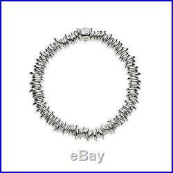 Links Of London Women's Sterling Silver Sweetie Charm Bracelet Medium Size Jewel