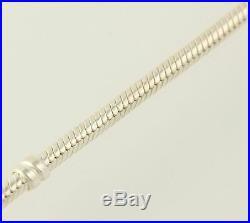 NEW Authentic Pandora Silver Charm Bracelet 6.7 Sterling & 14k Gold 590702HG-17