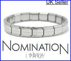 NEW Genuine NOMINATION Classic Starter Charm Bracelet with Nomination Packaging