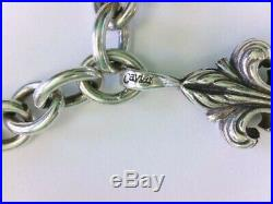 NICE Lagos Sterling Silver Toggle Bracelet with Fleur De Lis Charm. 8. BUY NOW