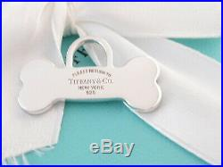 New Tiffany & Co Silver Dog Bone Charm Pendant 4 Necklace Bracelet