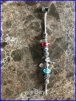 PANDORA Bracelet With Pandora Charms