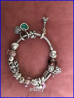 Parity Used Pandora Bracelet With Charms Up To 74 Off