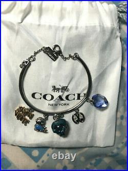 RARE Coach x Disney A Dark Fairy Tale Enchanted Charm Bracelet Snow White 32531