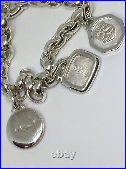 Slane and Slane Bee Eros & Rhea 3 Charm Bracelet Sterling Silver Toggle 8