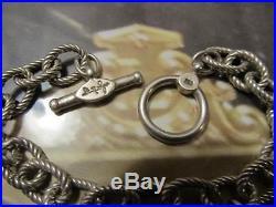 Steven Lagos & Ann King 18K & Sterling Silver Four Seasons Charm Bracelet