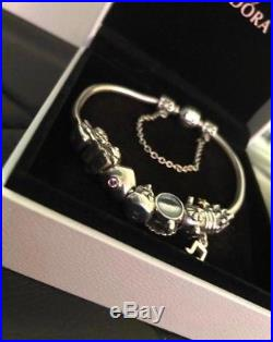 Stunning Pandora Charm Bracelet (silver)
