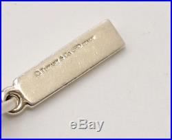 TIFFANY&Co 1837 Five Charm Bracelet Silver 925 Bangle withBOX #2160