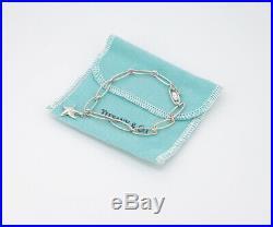 TIFFANY&Co Starfish Charm Bracelet Peretti Silver 925 Bangle b4270
