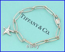 TIFFANY&Co Starfish Charm Bracelet Peretti Silver 925 Bangle v1370