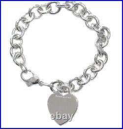 TIFFANY & Co. Tiffany Return to Heart Tag Charm Bracelet Silver 925 by DHL used