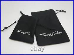 Thomas Sabo TA1116S Sterling Silver Opening Link Charm Bracelet 18.5cm RRP $249