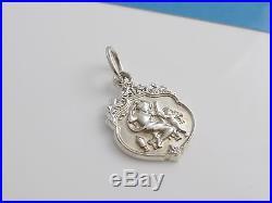 Tiffany & Co RARE Silver Olympian Beauty Charm 4 Necklace or Bracelet