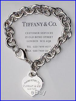 cd59aa3d532df Tiffany & Co Return To Tiffany Sterling Silver Heart Tag Charm ...