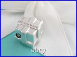Tiffany & Co Silver Gift Padlock Charm Pendant 4 Necklace Or Bracelet
