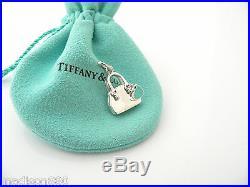 Tiffany & Co Silver Handbag Purse Blue Enamel Charm Clasp 4 Necklace Bracelet