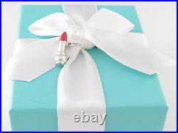 Tiffany & Co Silver Lipstick Picasso Charm Pendant 4 Necklace Bracelet