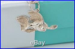 Tiffany & Co Silver Sea Ocean Theme Starfish Anchor Sailboat Charm 7.5 Bracelet