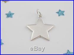Tiffany & Co Silver Star Charm Pendant 4 Necklace Bracelet