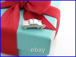 Tiffany & Co Silver Taxi Cab Charm Pendant For Necklace Bracelet
