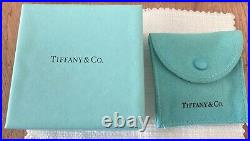 Tiffany&Co Sterling Silver Heart Tag And Four-Leaf Clover Charm Bracelet