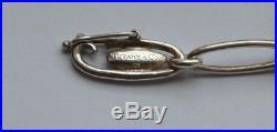 Tiffany & Co Vintage ELSA PERETTI Sterling Silver Five Charm Bracelet Authentic