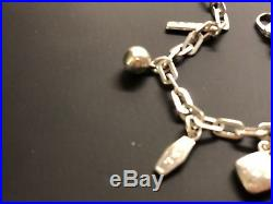 Tiffany and co necklace 1837 Sterling Silver Vintage Charm Bracelet