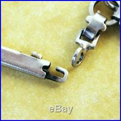 Vintage Enamel Silver Spring Summer Gardening Theme Charm Bracelet
